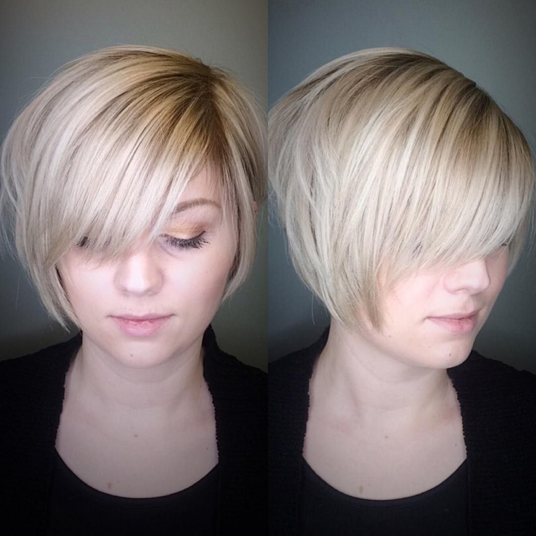 8 Most Flattering Bob Hairstyles for Round Faces 8