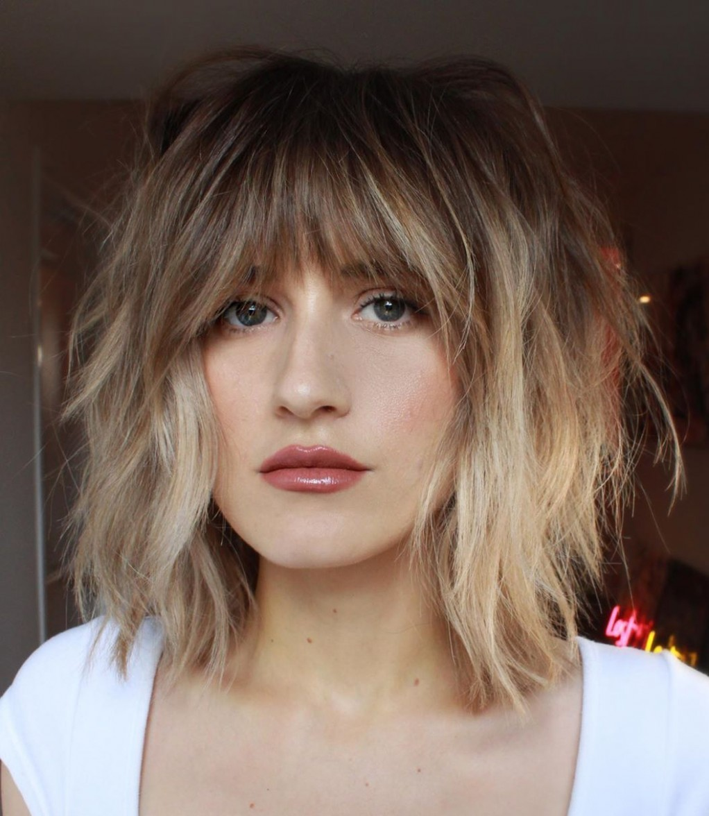 8 Most Trendy And Flattering Bangs For Round Faces In 8 Hadviser Bangs For Round Face