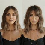 8 Most Trendy And Flattering Bangs For Round Faces In 8 Hadviser Long Bangs For Round Face