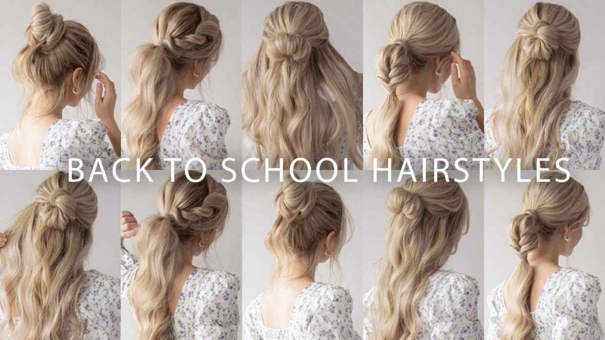 8 QUICK & EASY HAIRSTYLES  Cute Long Hair Hairstyles - YouTube