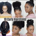 8 Quick Easy Hairstyles For Natural Curly Hair Instagram Inspired Hairstyles Easy Hairstyles For Thick Curly Hair