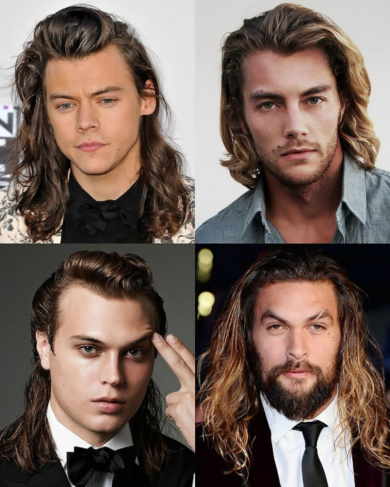 8 Sexy Long Hairstyles for Men in 8 - The Trend Spotter