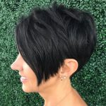 8 Short Hairstyles For Thick Hair (Trendy In 8 8) ⋆ Palau Inverted Pixie Cut