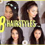 8 Spring/Summer Hairstyles For Naturally Curly Hair! By Lana Summer Cute Hairstyles For Thick Curly Hair