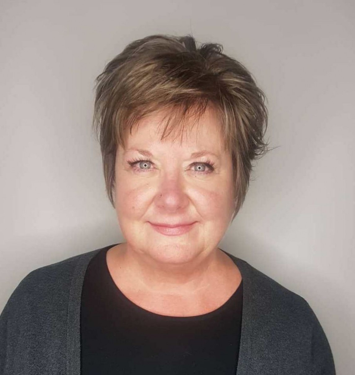 8 Top Short Hairstyles For Women With Round Faces Over 8 In 88 Hairstyles For Fat Faces Over 50