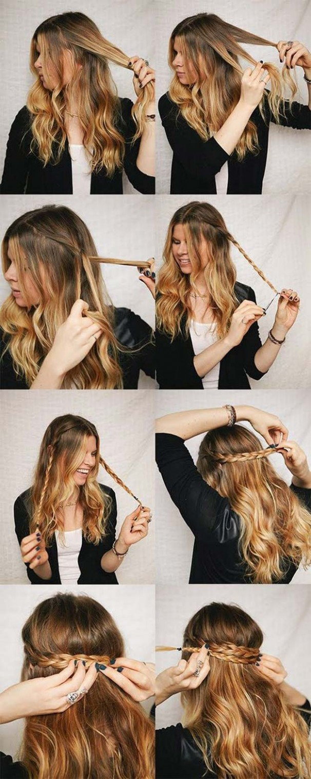 9 Best Hairstyles for Long Hair - DIY Projects for Teens