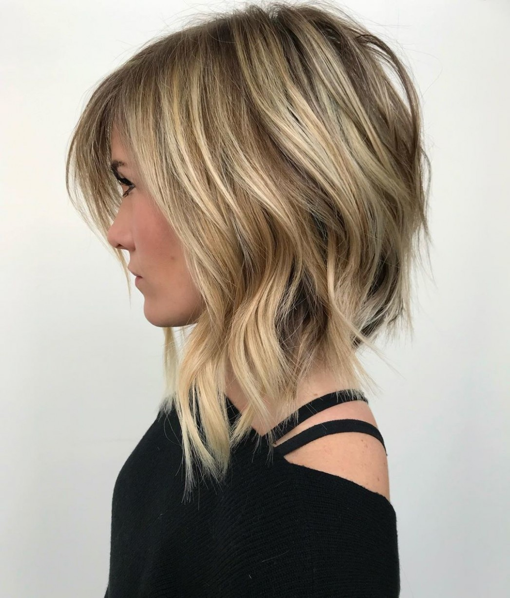 9 Best Lob Haircuts & Hairstyles How To Style Your Long Bob Long Layered Lob