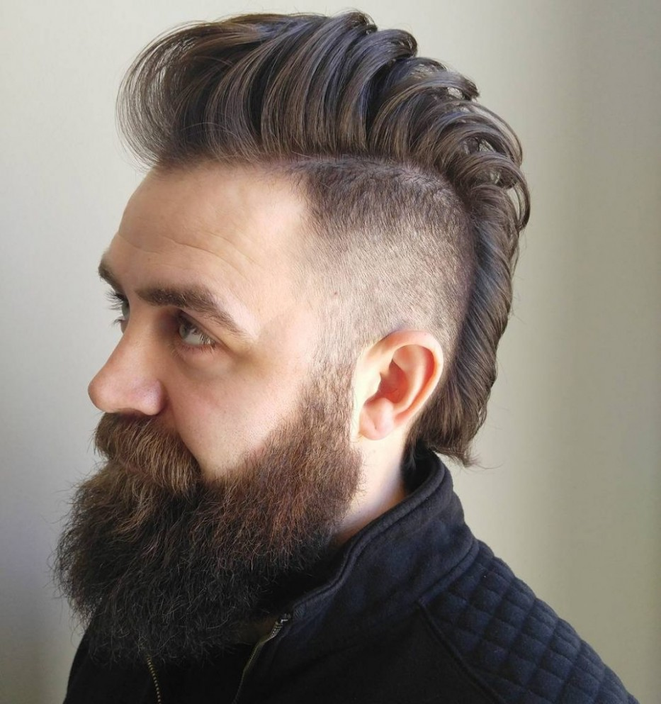 9 Best Mohawk Fade Haircuts For Men That Are Totally Cool