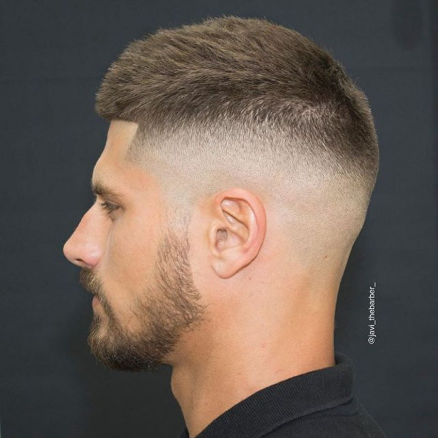 9 Best Short Haircuts For Men > Most Popular Short Hair Styles Short Fade Hairstyle