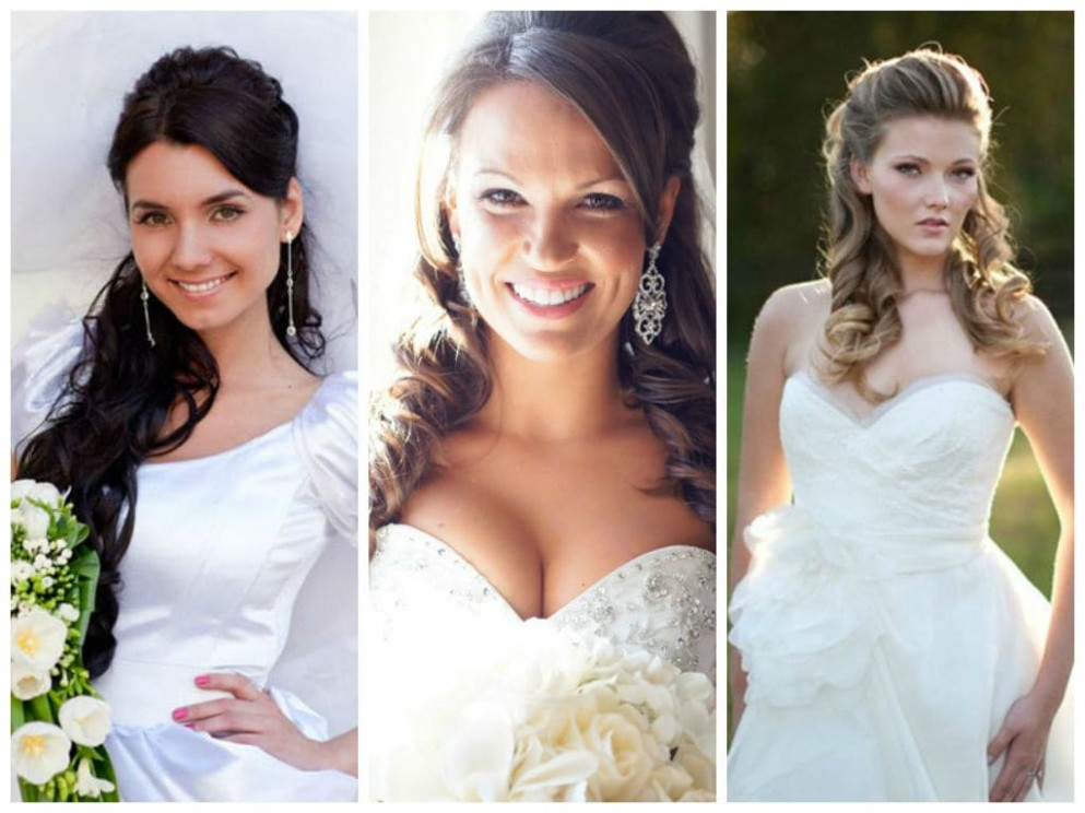 9 Best Wedding Hairstyles For Round Faces ▷ Tuko Co