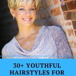 9 Best Youthful Hairstyles For Women Over 9 Short Hair With Pixie Cuts For Round Faces Over 50