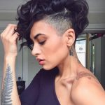9 Bold Shaved Hairstyles For Women Shaved Hair Designs Side Shaved Curly Hair