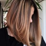 9 Chic Long Inverted Bobs To Inspire Your 919 Makeover Angled Long Angled Bob Haircut
