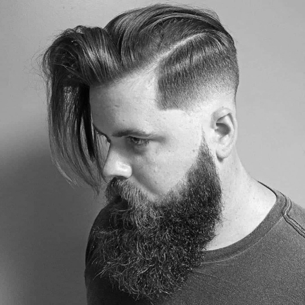 9 Creative Short On Sides Long On Top Haircuts - [9 Ideas]