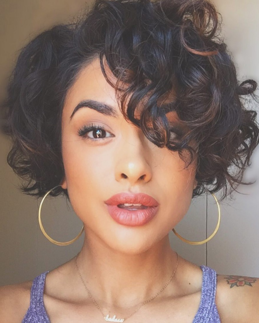 9 Curly Pixie Cuts That Are Perfect For Fall 9 Glamour Long Curly Pixie