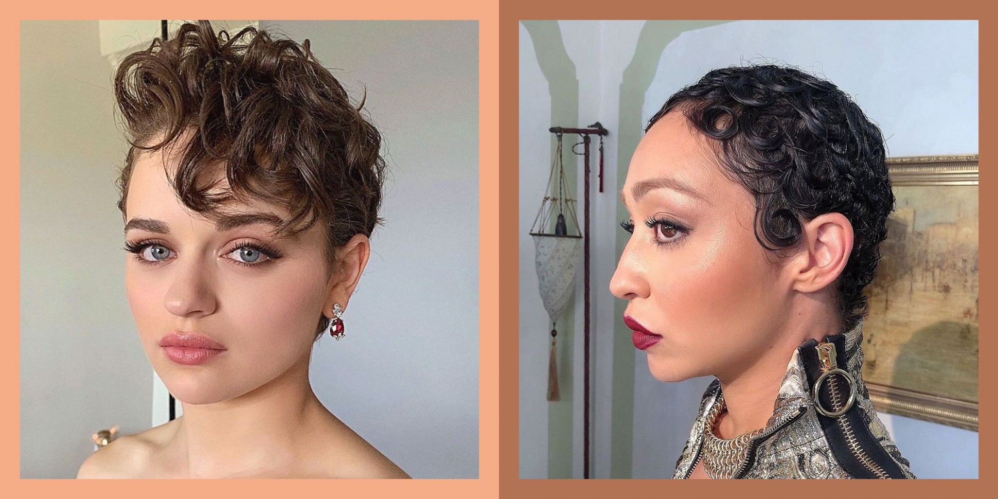 9 Curly Pixie Cuts You Need To Try In 9 Short Curly Haircut Long Curly Pixie