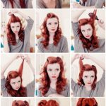 9 Easy Retro Hair Tutorials From Pinterest TheFashionSpot Rockabilly Hairstyles For Long Hair