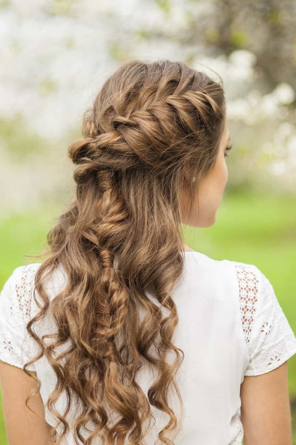 9 Elegant French Braids to Wear with Curly Hair