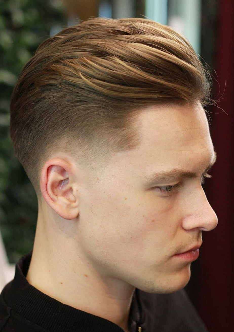 9 Elegant Taper Fade Haircuts: For Clean Cut Gents Long Hair With Tapered Sides