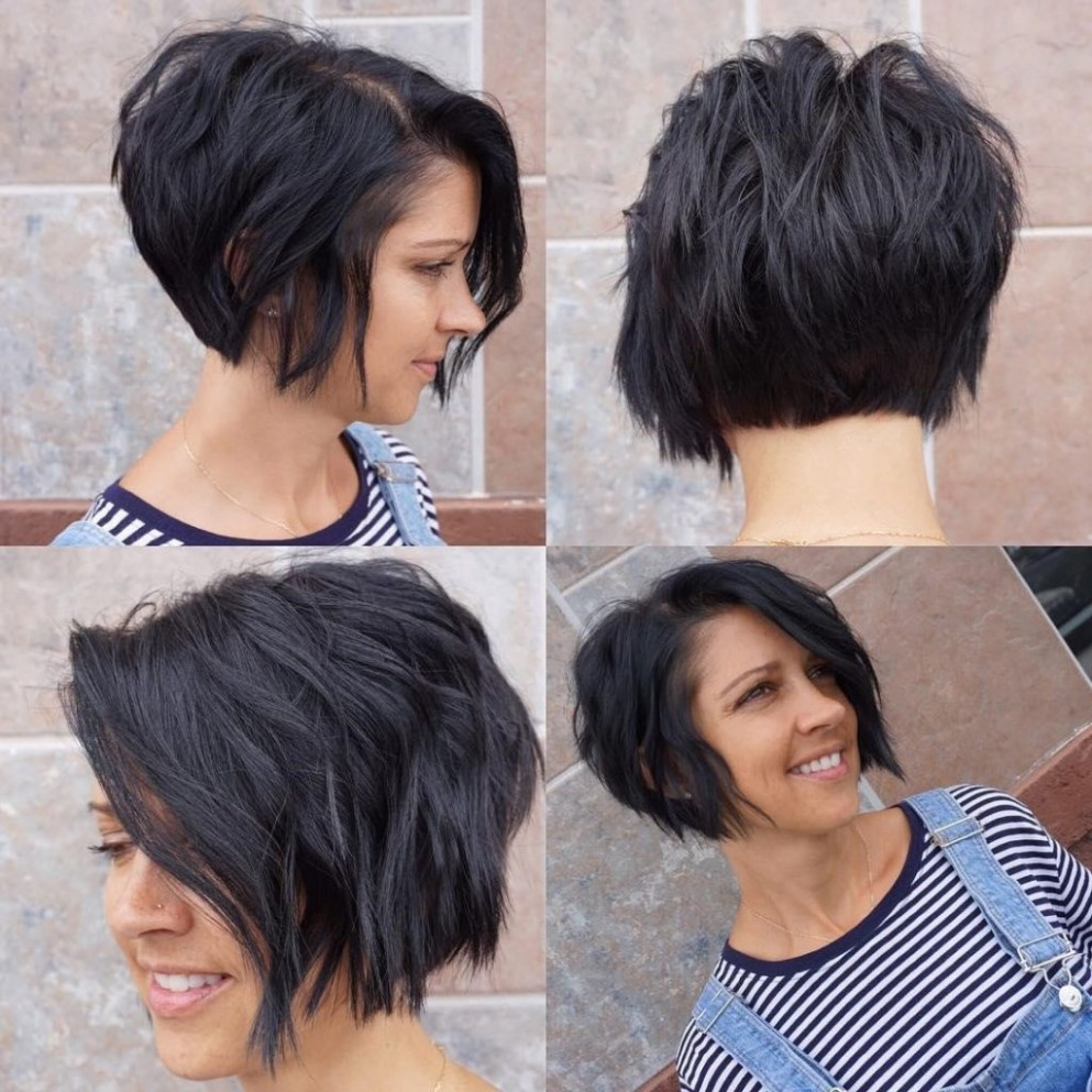 9 Exciting Asymmetrical Bob Haircuts Every Woman Wants To Try Asymmetrical Inverted Bob