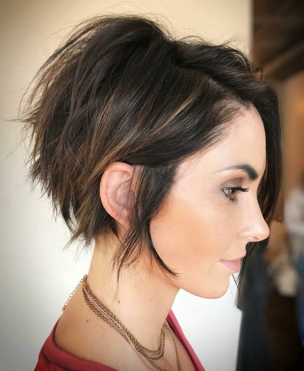 9 Fab Short Hairstyles with Texture & Color 9