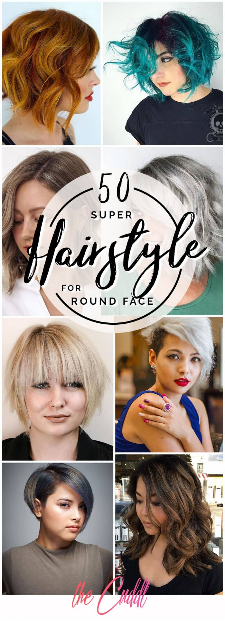 9 Fabulous Hairstyles for Round Faces to Upgrade Your Style in 9