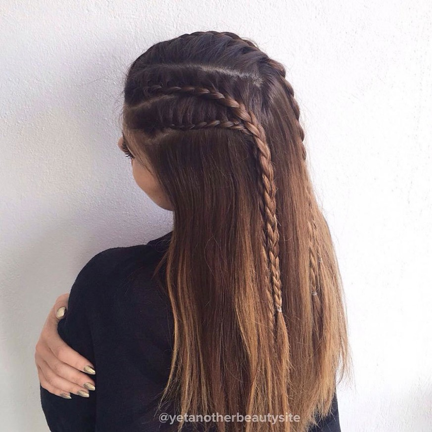 9 Gorgeous Hairstyles For Thin Hair More Cute Hairstyles For Long Thin Hair