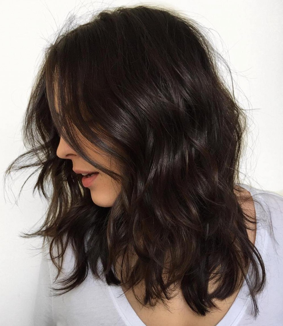 9 Haircuts For Thick Wavy Hair To Shape And Alleviate Your Low Maintenance Haircuts For Frizzy Hair