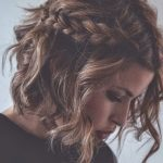 9 Half Up, Half Down Hairstyles To Try This Spring Short Hair Half Up Half Down Short Curly Hair