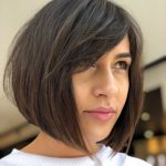 9 Hot Graduated Bob Haircuts For Women Of All Ages (9 Update) A Line Bob With Side Bangs
