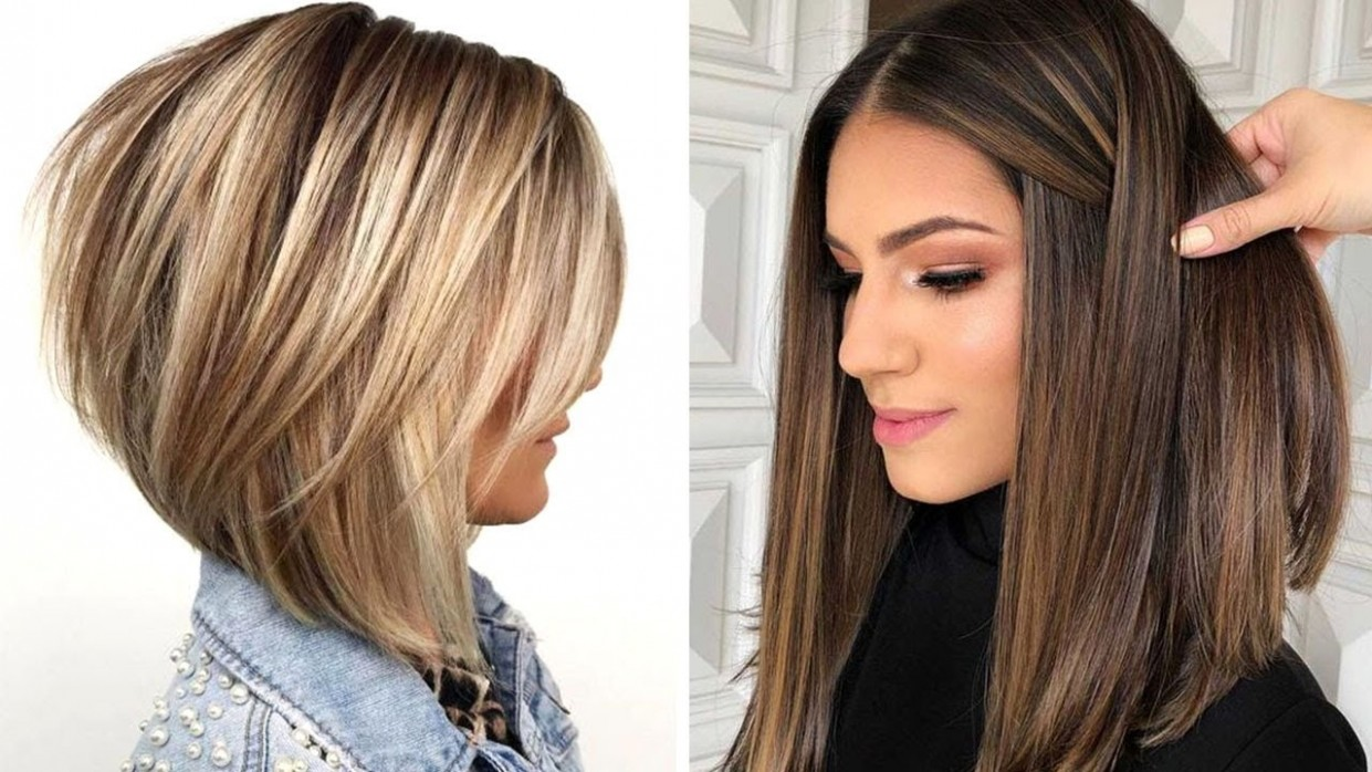 9 Layered Bob Hairstyles Compilation  Long to Short Haircut Tutorial   Trendy Hairstyles 9