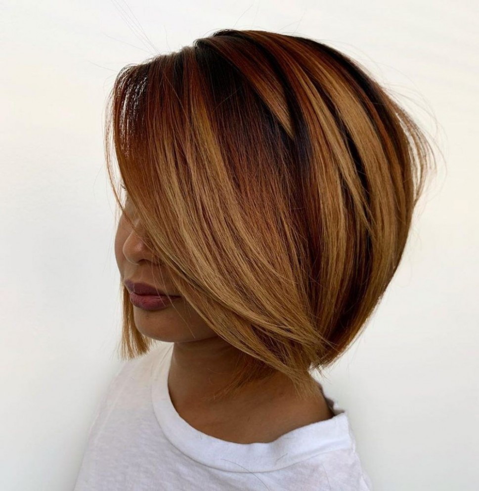 9 Layered Bob Hairstyles To Inspire Your Next Haircut In 9 Short Blunt Haircut With Layers
