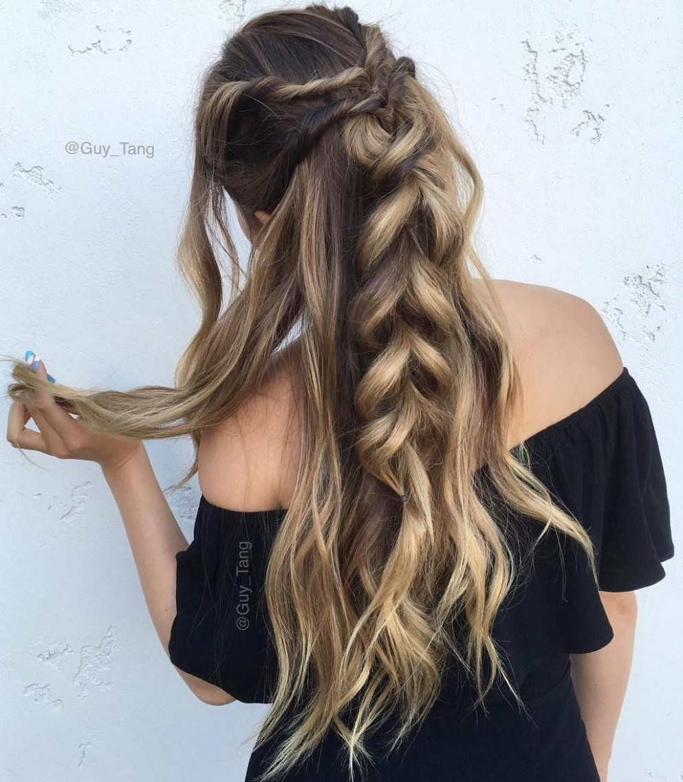 9 Long Hairstyles You Will Want To Rock Immediately! Long Hair Messy Hairstyles For Long Hair