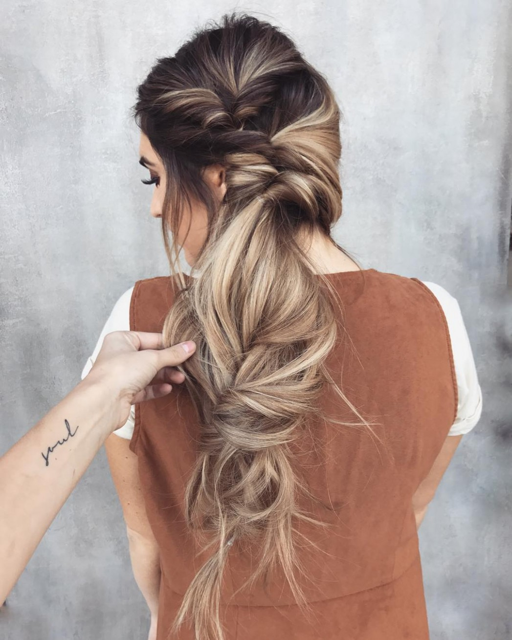 9 Messy Braided Long Hairstyle Ideas For Weddings & Vacations Messy Long Hairstyles