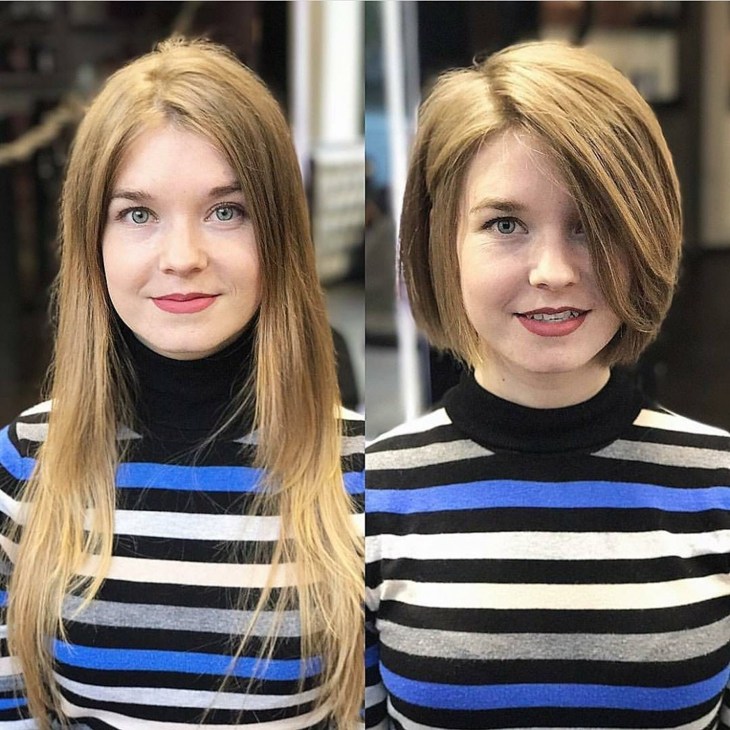 9 Most Flattering Bob Hairstyles for Round Faces 9
