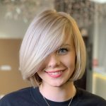 9 Newest Bob With Bangs Ideas To Suit Any Taste Hair Adviser A Line Bob With Side Bangs