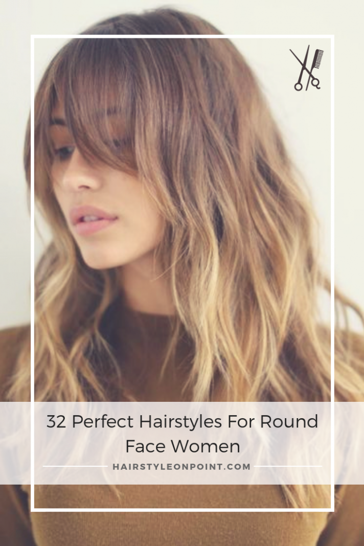 9 Perfect Hairstyles For Round Face Women  Hairstyles for round