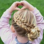 9 Pretty Fun And Funky Braids Hairstyles For Kids Braids For Kids With Long Hair