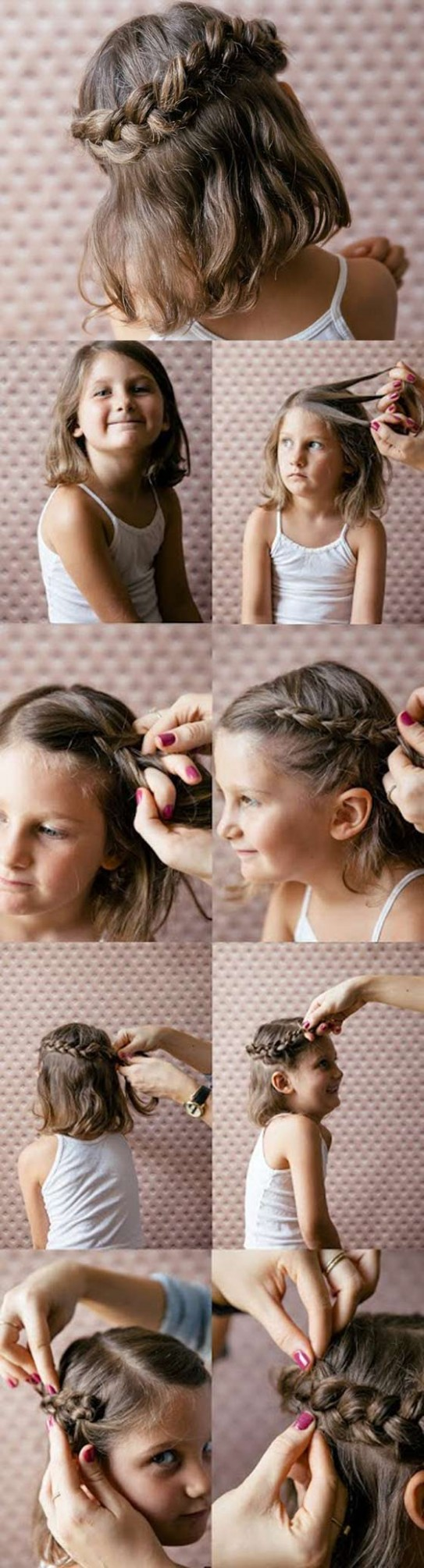 9 Quick And Easy Braids For Kids (Tutorial Included) Braids For Kids With Long Hair