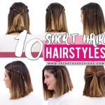 9 Quick And Easy Hairstyles For Short Hair Patry Jordan Easy Hairstyles For Short Hair Step By Step