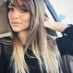 9 Really Unique Ways To Wear Side Bangs — Your Best Choice Long Side Fringe Long Hair