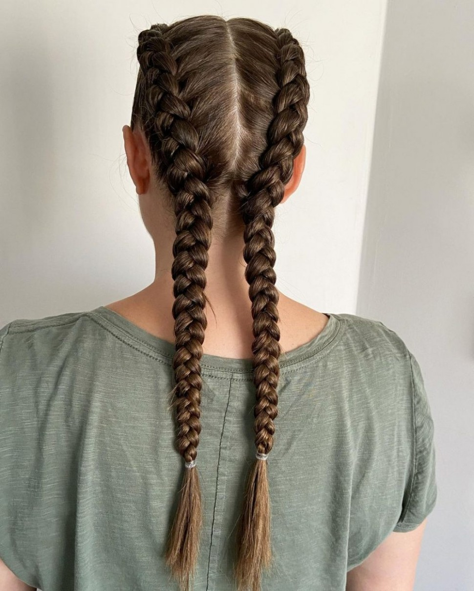 9 Sexiest French Braid Hairstyles That Are Easy To Try Long French Braids