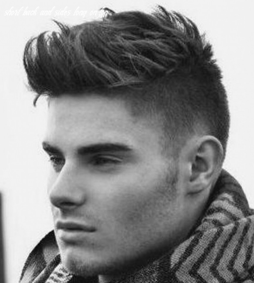9 Short Back And Sides Long On Top Undercut Hairstyle Short Sides Long Top Men