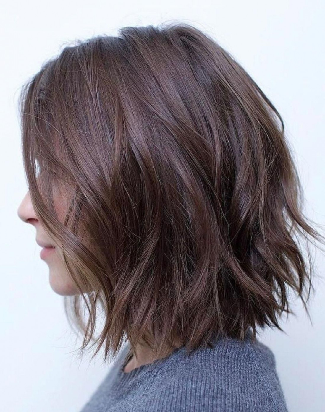 9 Simple Choppy Bob Hairstyles  Bob hairstyles for thick, Wavy