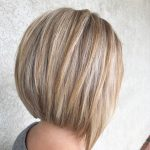 A Line Stacked Bob Haircut Highlights And Lowlights