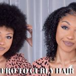 AFRO To CURLY HAIR Testing New Hair Products On NATURAL TYPE 11 HAIR DisisReyRey Afro To Curls