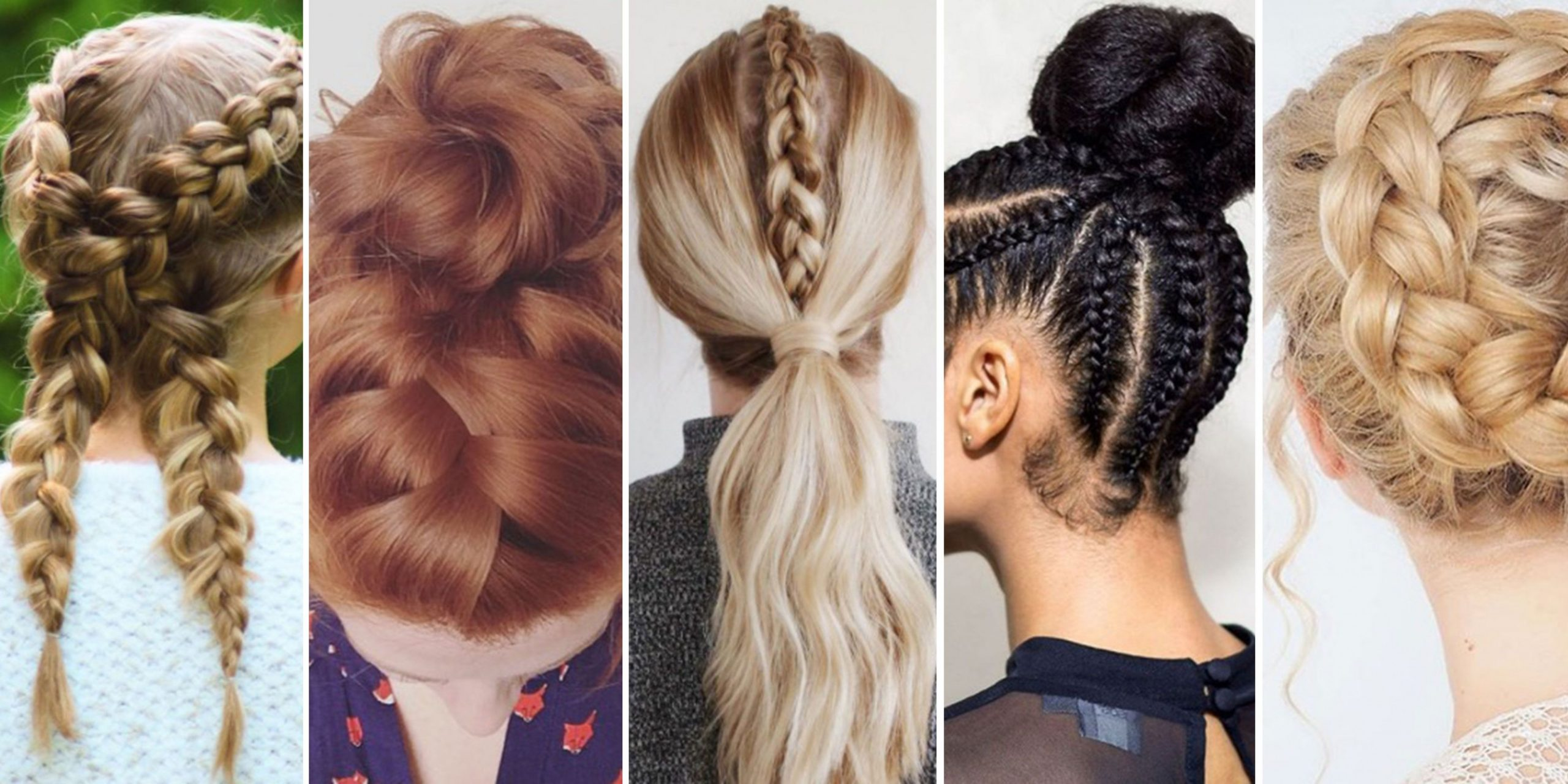 Alternative Workout Hairstyles Workout Hairstyles For Long Hair