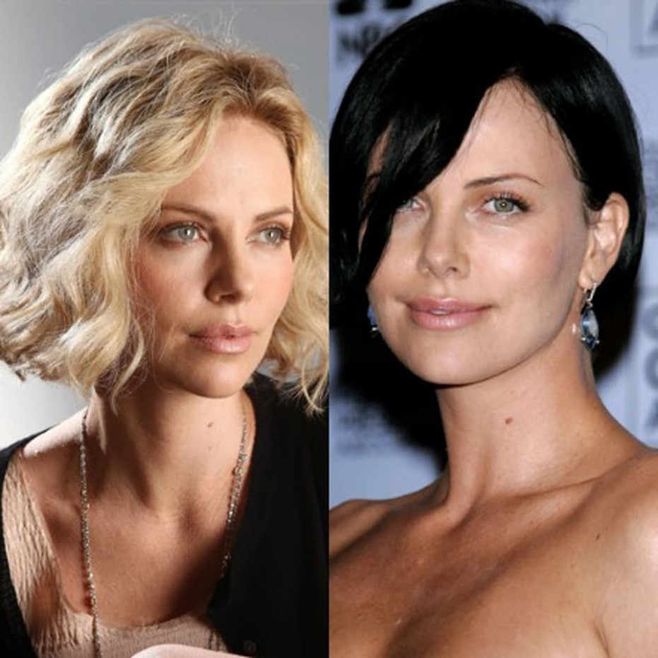 Amazing Hair Transformation Of Charlize Theron Charlize Theron Curly Hair