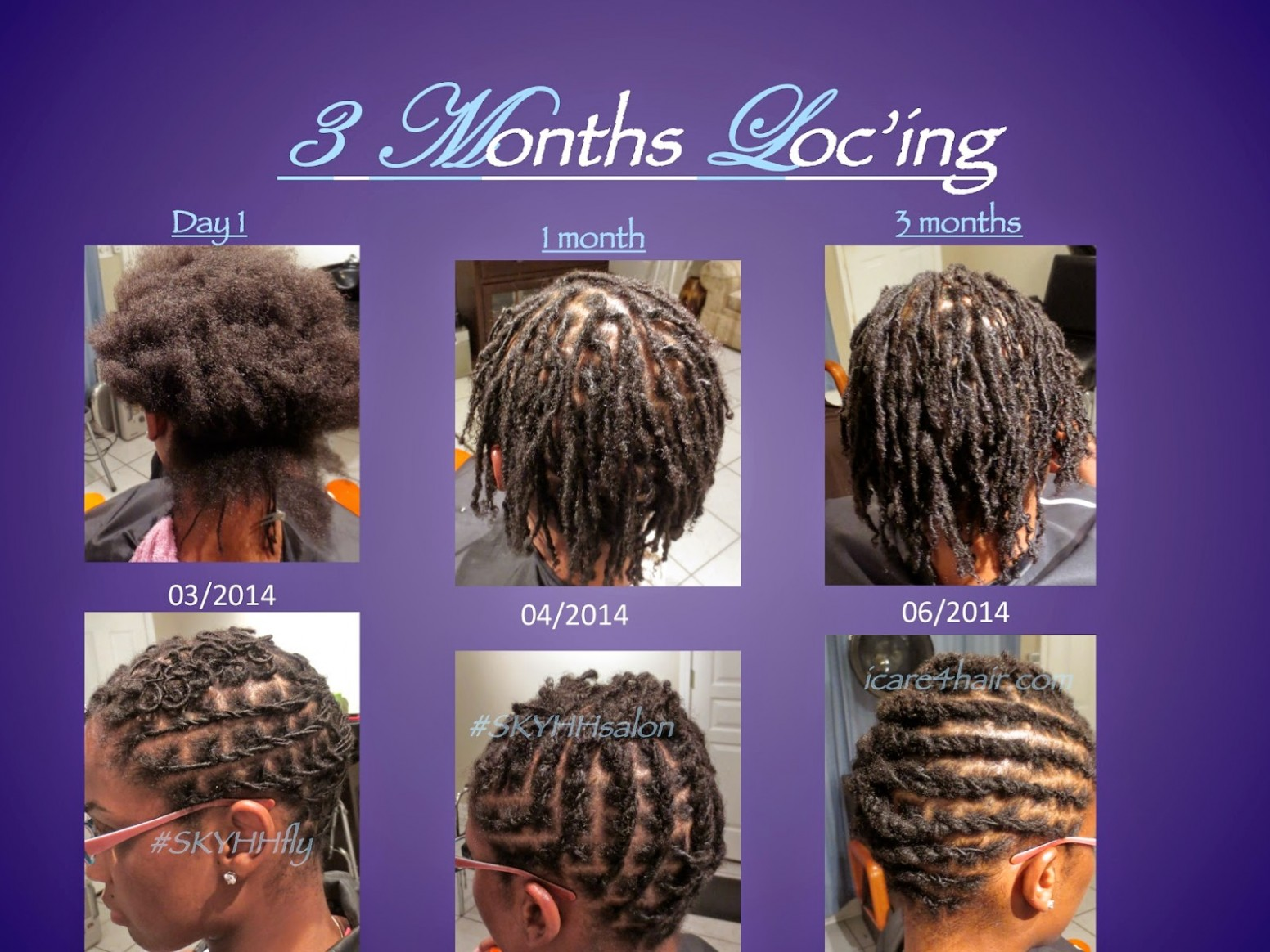 Angie SKYHH: Short Locs Are Ugly And UnstylableWHAAAT??? Short Locs