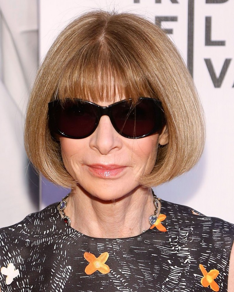 Anna Wintour Turns 12: 12 Style Tips You Can Learn From The Vogue Anna Wintour Haircut